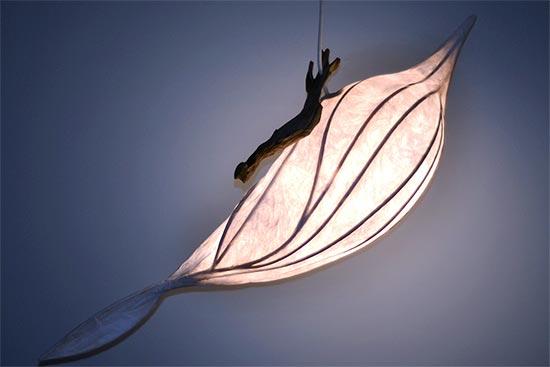 Lightning Strike Light Sculpture