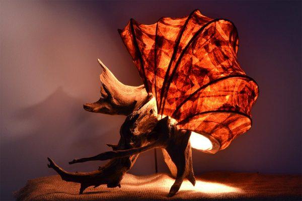 Rustic Light Sculpture