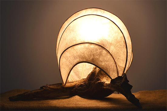 Sea Shell Light Scultpure