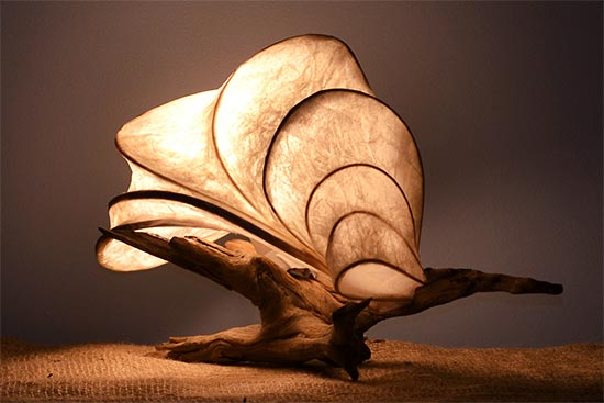 Wind Currents Light Sculpture