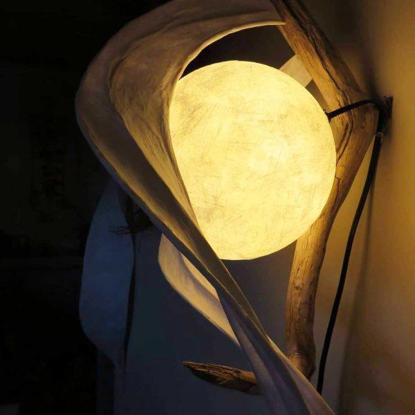Satin Swirls | LED Nature Light Fixture 03